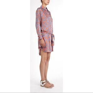 Thakoon Addition Paisley Shirt Dress